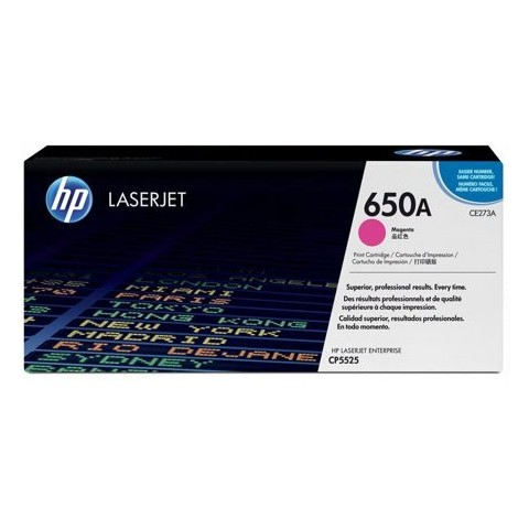 HP 650A CE273A Magenta Original Toner Cartridge