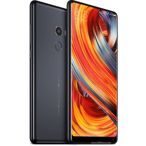 Xiaomi Mi Mix 2 Dual SIM - 128GB, 6GB RAM, 4G LTE, Ceramic Black