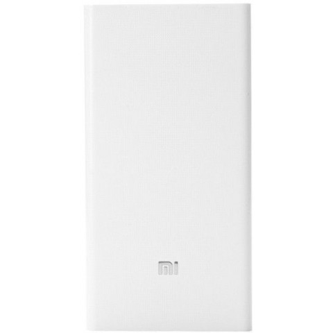 Xiaomi Mi 20000mAh Dual USB Powerbank - White