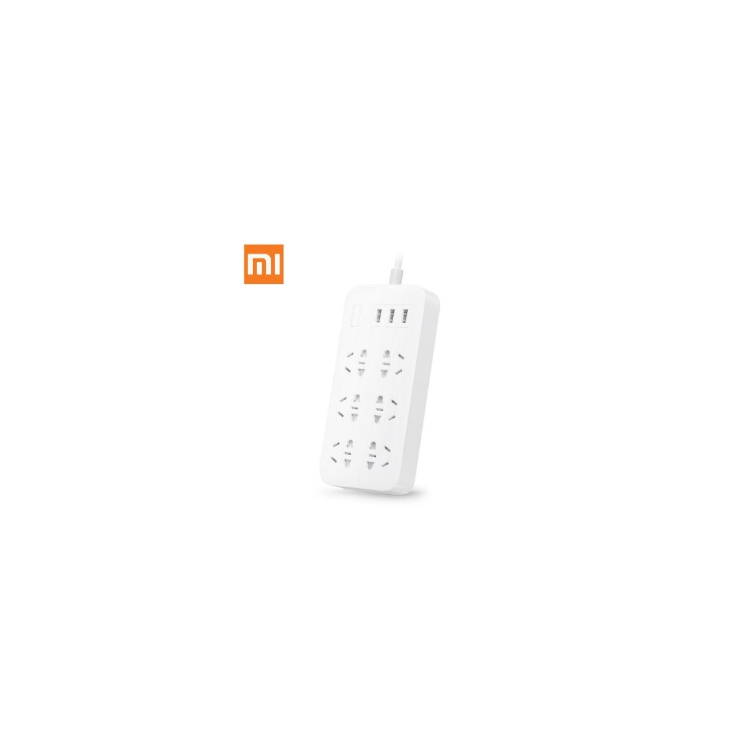 Xiaomi  6-outlet Power Board with 3 USB Outlets, CN-  WHITE
