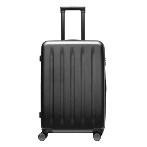 Xiaomi 90 Minutes Spinner Wheel Luggage Suitcase  -  24 INCH, BLACK