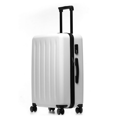 Xiaomi 90 Minutes Spinner Wheel Luggage Suitcase - 24 INCH, White
