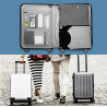 Xiaomi 90 Minutes Spinner Wheel Luggage Suitcase - 20 INCH, Gray