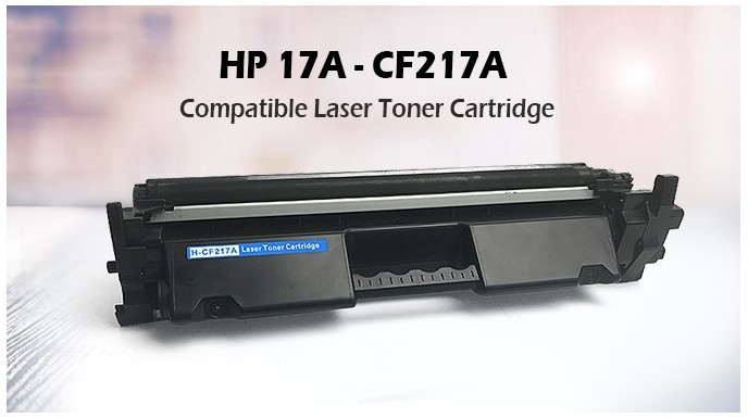New Products Compatible toner cartridge HP 17A – CF217A !