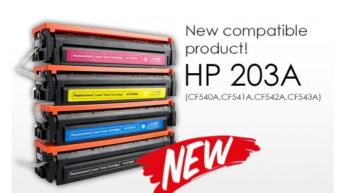 New Compatible Product - HP 201A Series Toner Cartridge